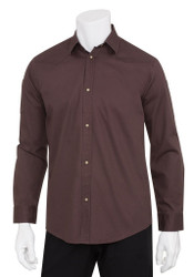 Fremont Womens Brown Long Sleeve Shirt