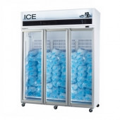 Skope  - VF1500X-ICE  3 Door Ice Freezer - White. Weekly Rental $110.00