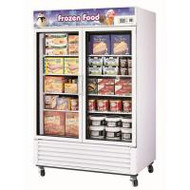 Austune - G2F-1250L - Two Door Upright Display Freezer 1250L. Weekly Rental $64.00