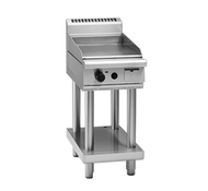 Waldorf 800 Series GP8450G-LS - 450mm Gas Griddle - Leg Stand. Weekly Rental $49.00