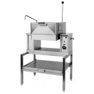 Crown ECTS12 - 45 Litre Electric Countertop Tilting Bratt Pan. Weekly Rental $148.00