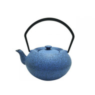 Cast Iron Tea Pot - Stone Blue
