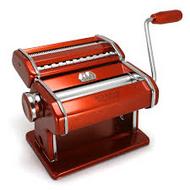 Marcarto Atlas Pasta Machine - Red