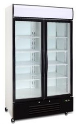 Saltas - DFS2999 - Double Glass Door Freezer 726 Litre. Weekly rental $34.00
