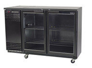 SKOPE - BB380X 2 Glass Swing Door Under Counter Chiller. Weekly Rental $49.00