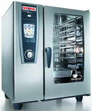 RATIONAL - SCC5S101 TEN TRAY ELECTRIC COMBI OVEN. Weekly Rental $253.00