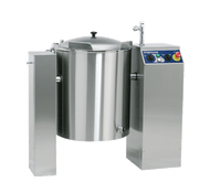 Metos VIKING 40S - 40 Litre Static Jacketed Steam Heated Kettle. Weekly Rental $214.00