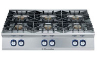 Electrolux 900XP E9GCGL6COM 6 Burner Gas Cook Top Boiling Top. Weekly Rental $59.00