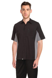 Mens Black/Grey Universal Shirt