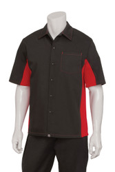 Mens Black/Red Universal Shirt