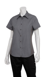 Ladies Grey Cool Vent Shirt