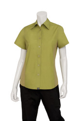 Ladies Lime Cool Vent Shirt