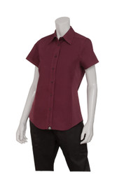 Ladies Merlot Cool Vent Shirt