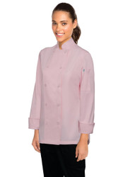 Marbella Womens Pink Chef Jacket