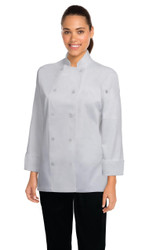 Marbella Womens White Chef Jacket