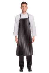 ChalkStripe Adjustable Apron - Black