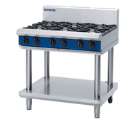 "Blue Seal Evolution Series G516D-LS - 900mm Gas Cooktop""- Leg Stand. Weekly Rental $39.00"