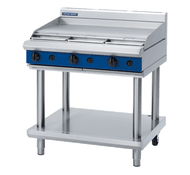 Blue Seal Evolution Series G516A-LS - 900mm Gas Griddle -Leg Stand. Weekly Rental $49.00