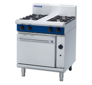 Blue Seal Evolution Series G505D - 750mm Gas Range Static Oven. Weekly Rental $65.00