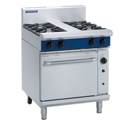 Blue Seal Evolution Series G54D - 750mm Gas Range Convection Oven. Weekly Rental $89.00