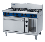 Blue Seal Evolution Series GE508D - 1200mm Gas Range Electric Static Oven. Weekly Rental $119.00