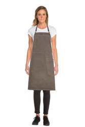Dorset Earth Brown Cross Back Apron