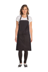 Boulder Black/ Brown Cross Back Apron