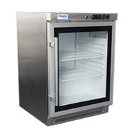 Exquisite - MC200G - Under counter Gkass Door Chiller. Weekly Rental $9.00