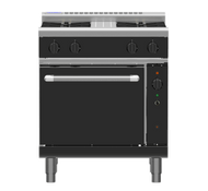 Waldorf Bold RNLB8510GC - 750mm Gas Range Convection Oven Low Back Version. Weekly Rental $98