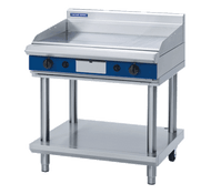 "Blue Seal Evolution Series GP516-LS - 900mm Gas Griddle "" Leg Stand. Weekly Rental $74.00"