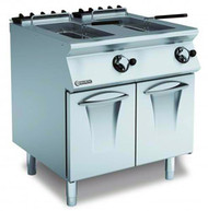 MARENO ANF78G15 Gas Double Deep Fryer . Weekly Rental $86.00