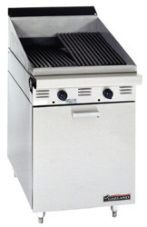 GARLAND MST24B Master Series Gas 610mm Char Broiler. Weekly Rental $90.00