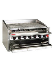 MagiKitch'n 600 Series Gas Radiant Grill 10 Burners CM-648-RMB. Weekly Rental $110.00
