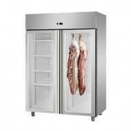 MPA1410TNG Large Double Door Upright Dry-Aging Chiller Cabinet. Weekly Rental $78.00