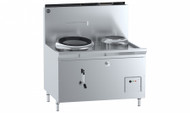 B & S - CCF-HP1+1R - Hi Pac Gas Wok Cooker. Weekly Rental $100.00