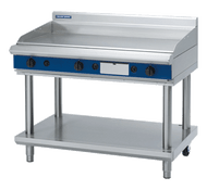 "Blue Seal Evolution Series GP518-LS - 1200mm Gas Griddle "" Leg Stand. Weekly Rental $91.00"