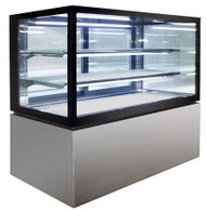 Anvil Aire - NDSV3730 - Cold Square Glass Display 3 Tier 900mm. Weekly Rental $37.00