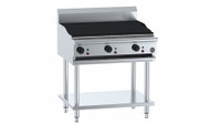 B & S - CGR-12 - Gas Chargrill On Stand. 1200 mm Wide. Weekly Rental $49.00