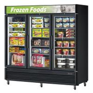 Austune - G37SD-72 -  Three Door Upright Display Freezer 2019L. Weekly Rental $124.00