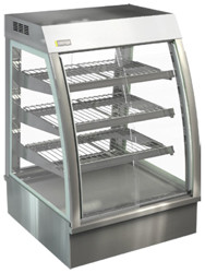 Cossiga - CC5HT9 - Curved Counter Top Heated display Cabinet. Weekly Rental $46.00