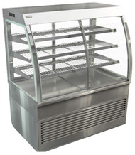COSSIGA CD5RF12 Curved Floor Standing Refrigerated Cabinet . Weekly Rental $91.00