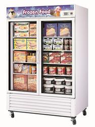 Austune FRS - 1250F -  Double Glass Door Upright Freezer . Weekly Rental $62.00