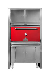 MIBRASA - HMB-AC-110-RED - Charcoal Oven With Full Cupboard. Weekly Rental $343.00