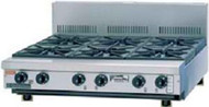 Goldstein - PFB36 - Gas Bench Top 6 Burner Boiling Top With Flame Failure. Weekly Rental $41.00