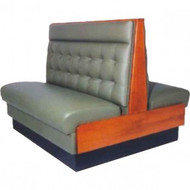 Single Lounge-SL-04S-BW Lounges - Beige and Wood. Weekly Rental $10.00