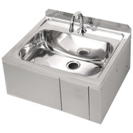 Knee-Operated Hand Basin, Weekly Rental $9.00