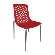 CX-PC003R Colourful Square Outdoor Polypropylene Chair
