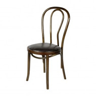 ZS-W04DB Dark Brown Thonet NO18 wooden dining chair