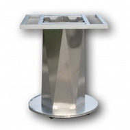 N6023 Table base S/S core with HDC base round 550mm
