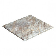 BLH-S77BM Square 700 Laminate Table Top - Grey Pearl Marble
